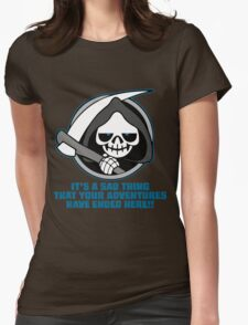 Shadowgate Grim Reaper Womens Fitted T-Shirt