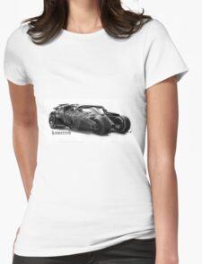 here comes da tumbl....err Womens Fitted T-Shirt