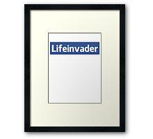 Lifeinvader Framed Print