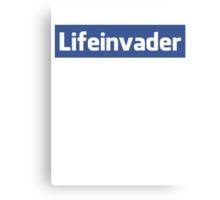Lifeinvader Canvas Print
