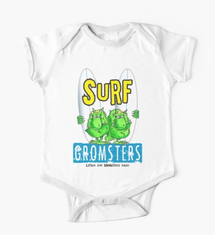 Surf gromsters V4 One Piece - Short Sleeve