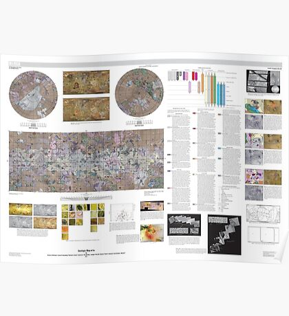 Geologic Map of Io Poster