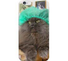 Romeo With Green Surgery Cap iPhone Case/Skin