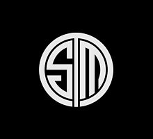 Team SoloMid (White on Black) by ferixsen