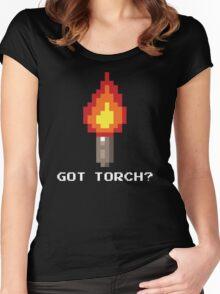 Got Torch? Women's Fitted Scoop T-Shirt