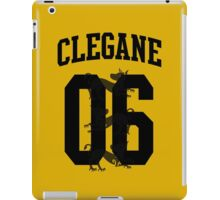 House Clegane Jersey iPad Case/Skin