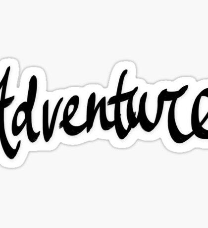 Adventure x Blue Sticker