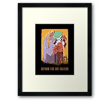 Gotham Fine Art Gallery: The Smooch Framed Print