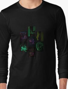 WDV - 121x - 7 Deadly Sins - Septych 2 Long Sleeve T-Shirt