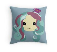 Madeline Hatter  Throw Pillow