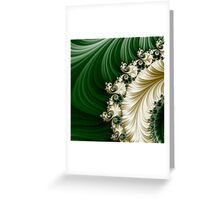 Fabulous Fractal |  Mozart's Feather Greeting Card