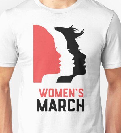 WOMAN'S MARCH ON WASHINGTON B Unisex T-Shirt