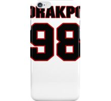 NFL Player Brian Orakpo ninetyeight 98 iPhone Case/Skin