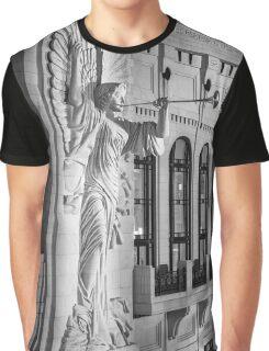 Angelic Blast - Bass Hall Graphic T-Shirt