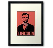 ABRAHAM LINCOLN-1863 Framed Print