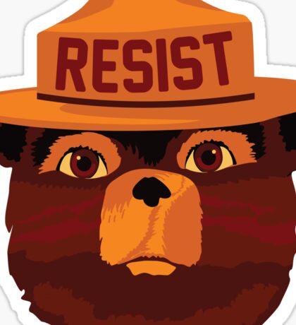 RESISTEY THE BEAR Sticker