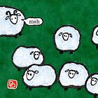 Japanese Sheep Say Meh by dosankodebbie