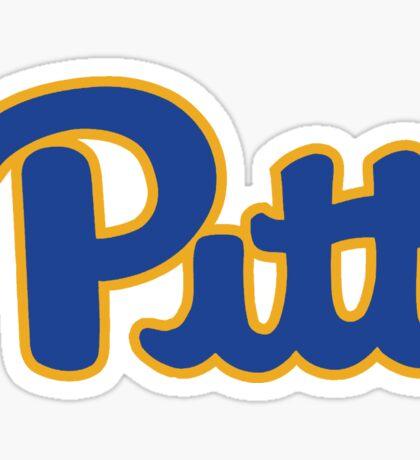 Pitt Retro Sticker