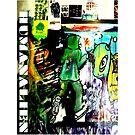 Humans VS Aliens Graffitti Logo by humanalien