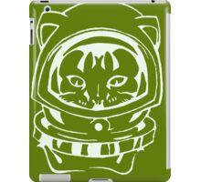 OLIVE GREEN SPACE CAT SMARTPHONE CASE (Graffiti) iPad Case/Skin