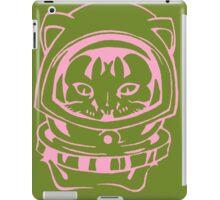 PINK AND OLIVE SPACE CAT SMARTPHONE CASE (Graffiti) iPad Case/Skin
