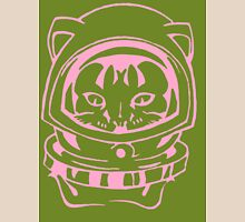 PINK AND OLIVE SPACE CAT SMARTPHONE CASE (Graffiti) Unisex T-Shirt