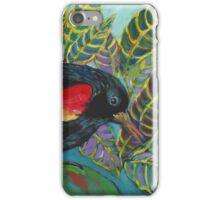 Red-wing Blackbird iPhone Case/Skin