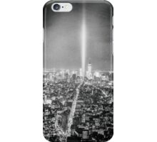 New York City - Tribute in Light iPhone Case/Skin