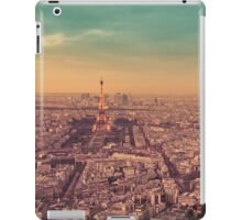 Paris - City of Lights at Sunset iPad Case/Skin