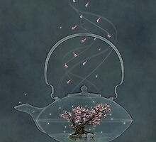 Cherry and Firefly Tea by Barbora  Urbankova