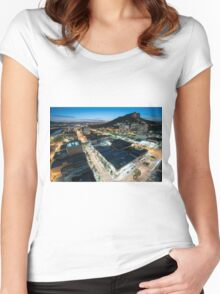 Townsville Sunset Women's Fitted Scoop T-Shirt