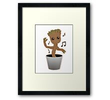Dancing Groot Framed Print