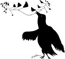 Smart Bird by Wendy Wahman