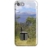 Loo with a view iPhone Case/Skin