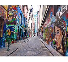 Hosier Lane, Melbourne Photographic Print