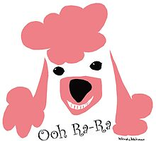 Pink Poodle  by Wendy Wahman