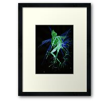 WDV - 137 - Spear and Wing Framed Print