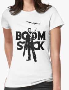 Evil Dead - Ash - Boomstick Womens Fitted T-Shirt