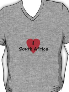 I Love South Africa T-shirt & Sticker T-Shirt