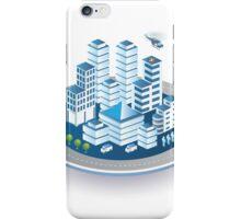 Isometric city iPhone Case/Skin
