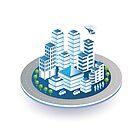 Isometric city by Alexzel