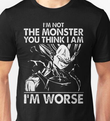I M Worse-Vegeta-38 Unisex T-Shirt