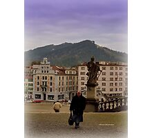 Einsiedeln Abbey - a Swiss Nun Photographic Print