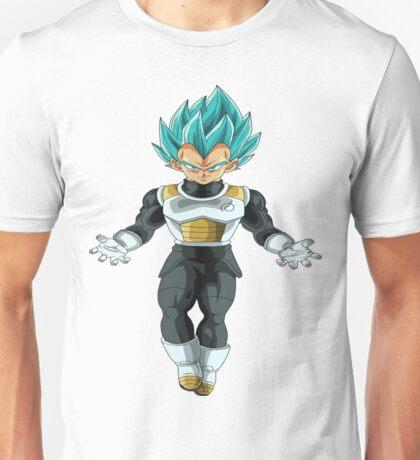 Vegeta Super Saiyan Blue-50 Unisex T-Shirt