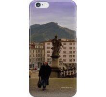 Einsiedeln Abbey - a Swiss Nun iPhone Case/Skin