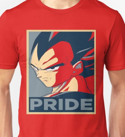 Pride-Vegeta-61 Unisex T-Shirt
