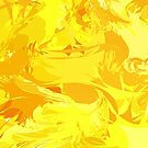 Yellow Abstract by Alexzel