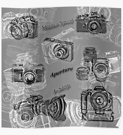 Cameras And Photography Poster