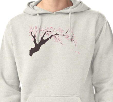 Cherry Tree Pullover Hoodie