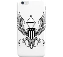 DATA CREST - BLACK iPhone Case/Skin